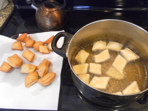 easy beignet frying