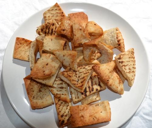 homemade pita chips