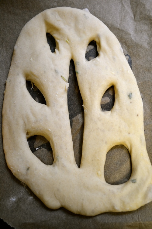 fougasse bread dough