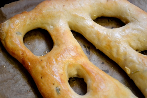 fougasse, french bread