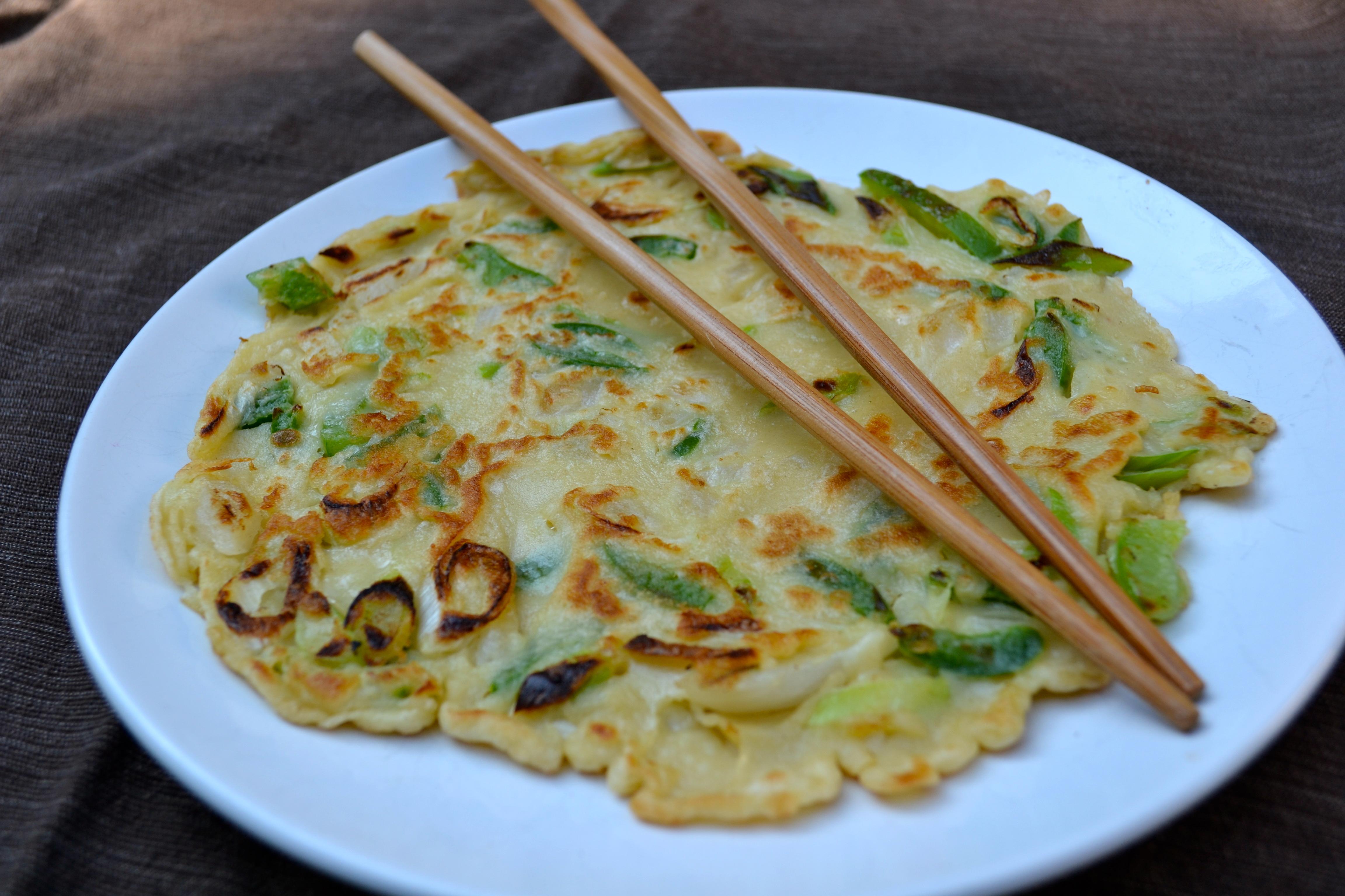 Jalapeno And Green Onion Pancake Lushesfood