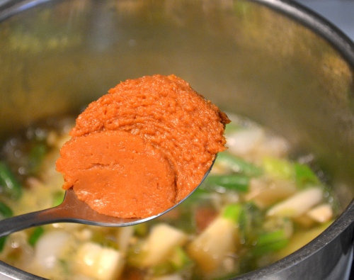 doenjang, soybean paste