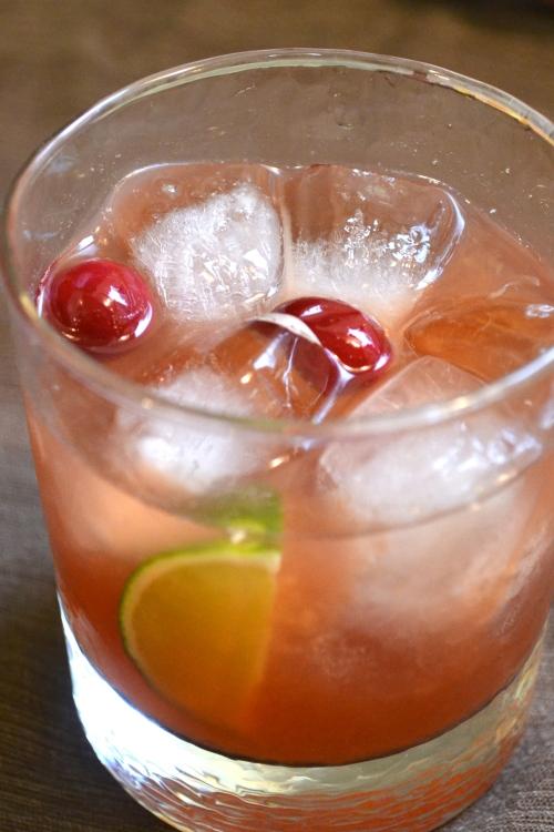 fresh cranberry daiquiri