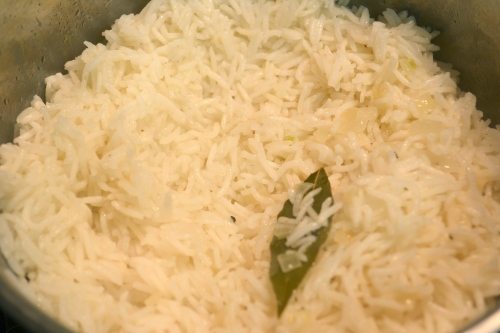 pulao, pilau rice