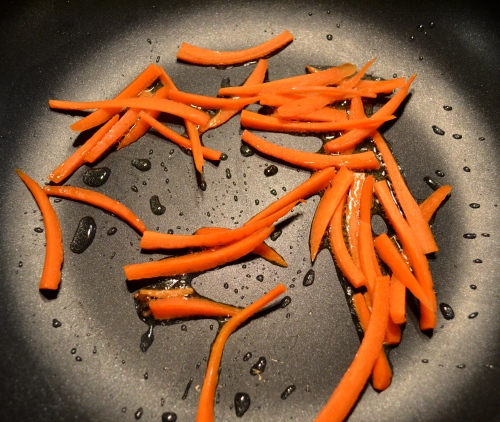 fried carrots