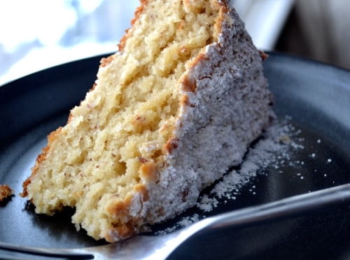 ricotta cake with coconut and almond