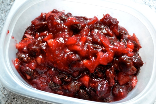 cranberry mince pie filling