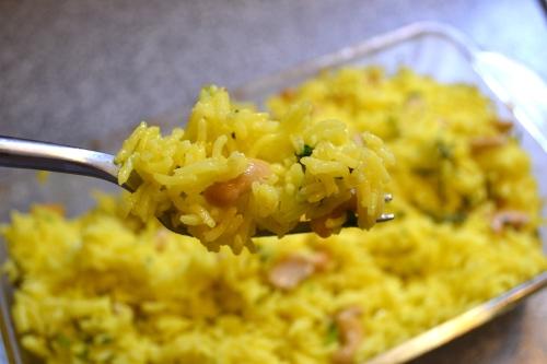 lemon and jalapeno rice