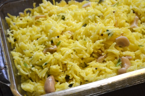 lemon and jalapeno rice