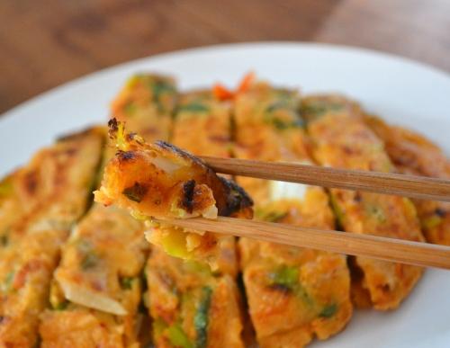 Kim chi pancake