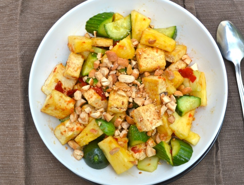Rojak salad; tangy, spicy and sweet | lushesfood