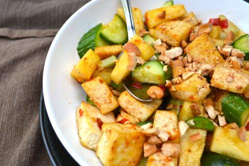 vegetarian rojak salad