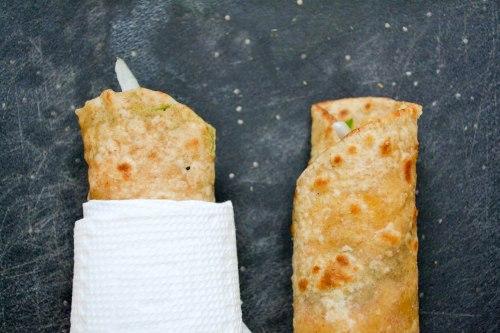 final egg roll paratha