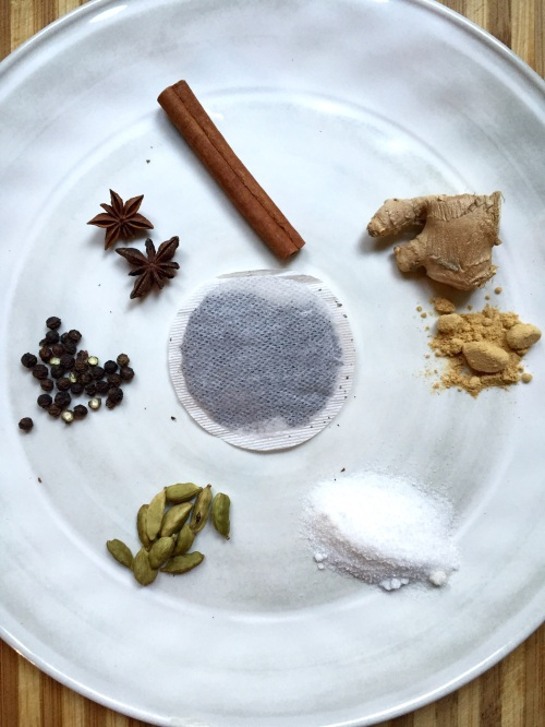 Spices for homemade masala chai